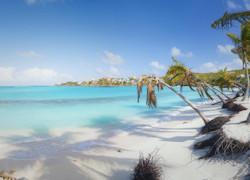 Sabbia bianca e palme ad Anguilla