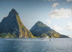 I rilievi sul mare di Santa Lucia