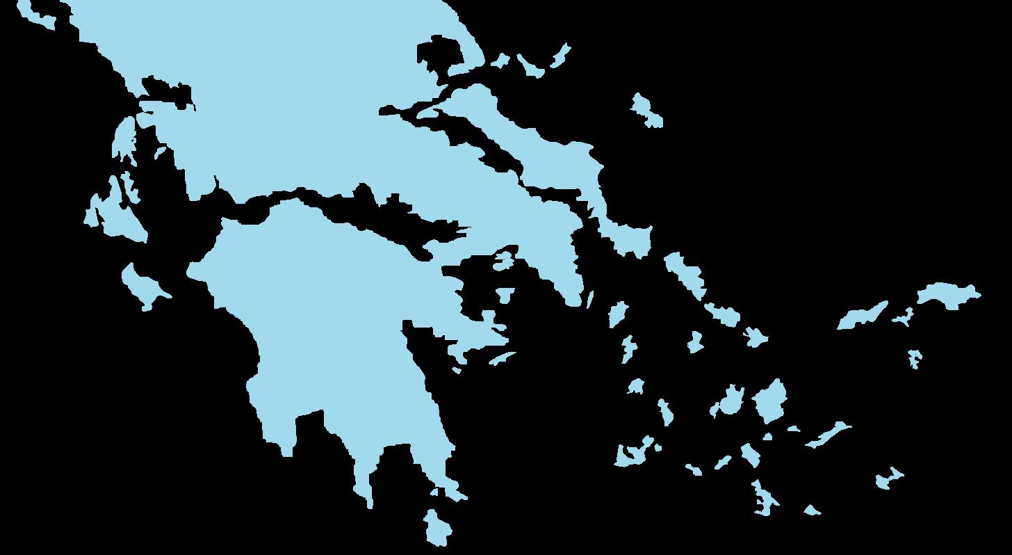 Mappa isole greche