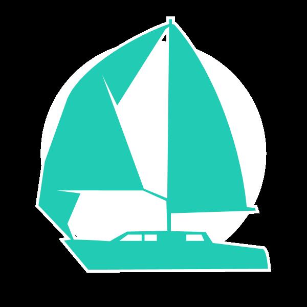 Icona di barca a vela