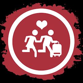 Simbolo viaggi di nozze