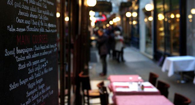 Closeup di un via del centro di Londra